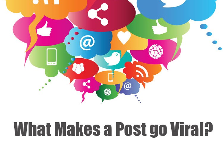What Makes a Post Go Viral?