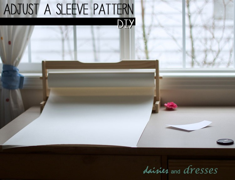 How to Adjust a Sleeve Pattern:  Adding Length and Fullness
