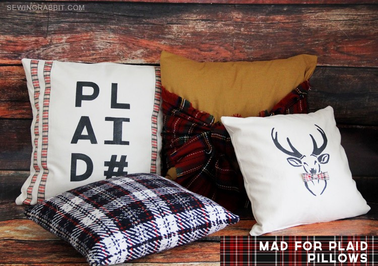 Mad for Plaid Pillows