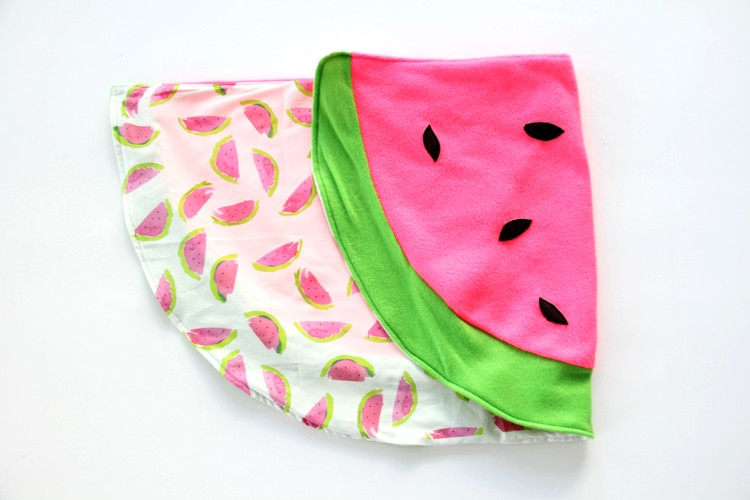 Watermelon Baby Blanket DIY