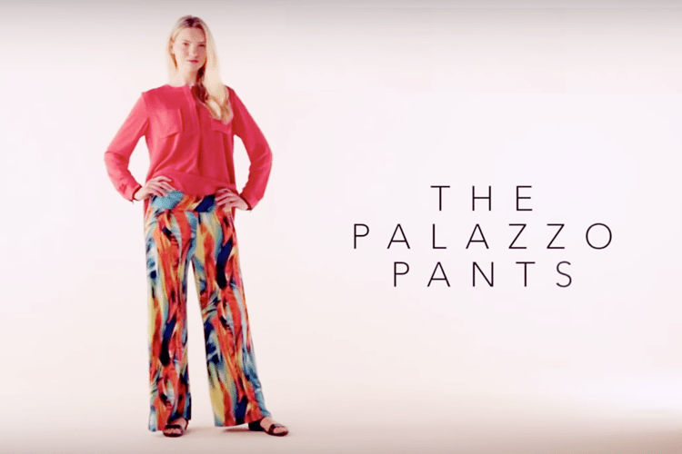 Palazzo Pants DIY (video)