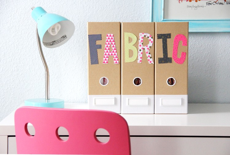 Sewing Organization Ideas