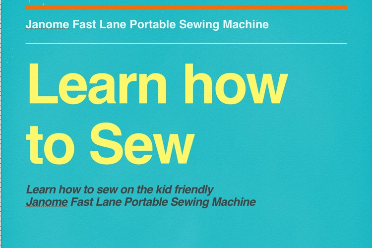 Learn how to sew – video eBook