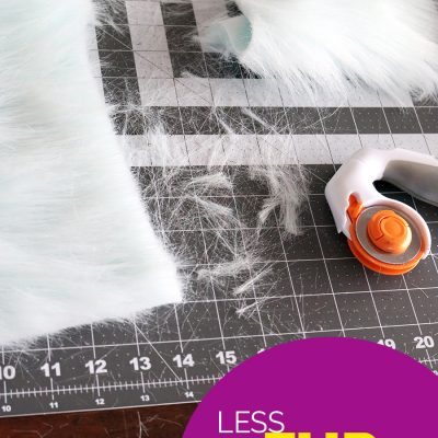 Tips to Help Minimize Messy Fur Sewing
