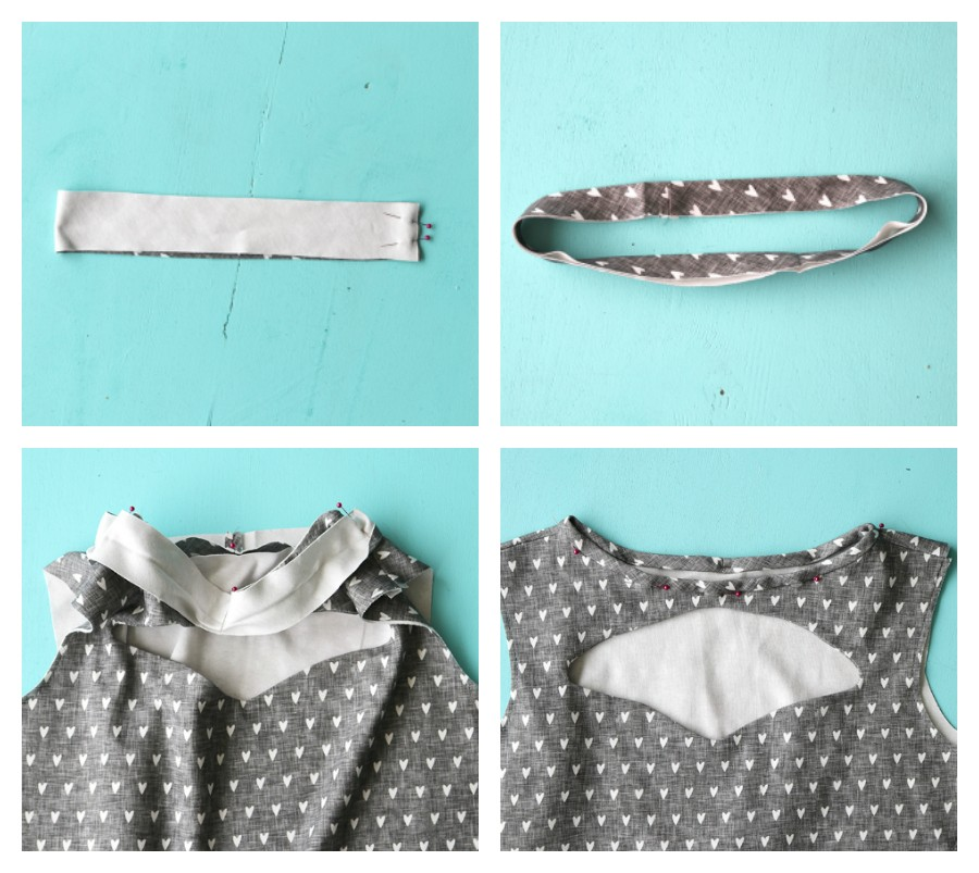 how to sew an easy knit dress