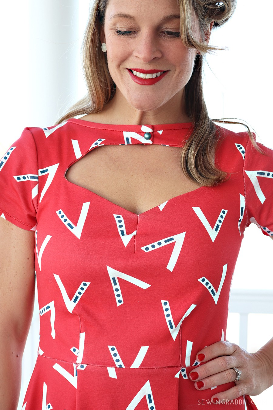 V is for Victory Dress - 1940's inspired dress DIY