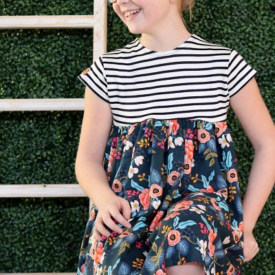 Rifle Paper Babydoll Dress
