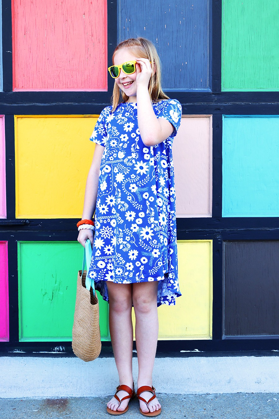 groove dress pattern for pre-teens