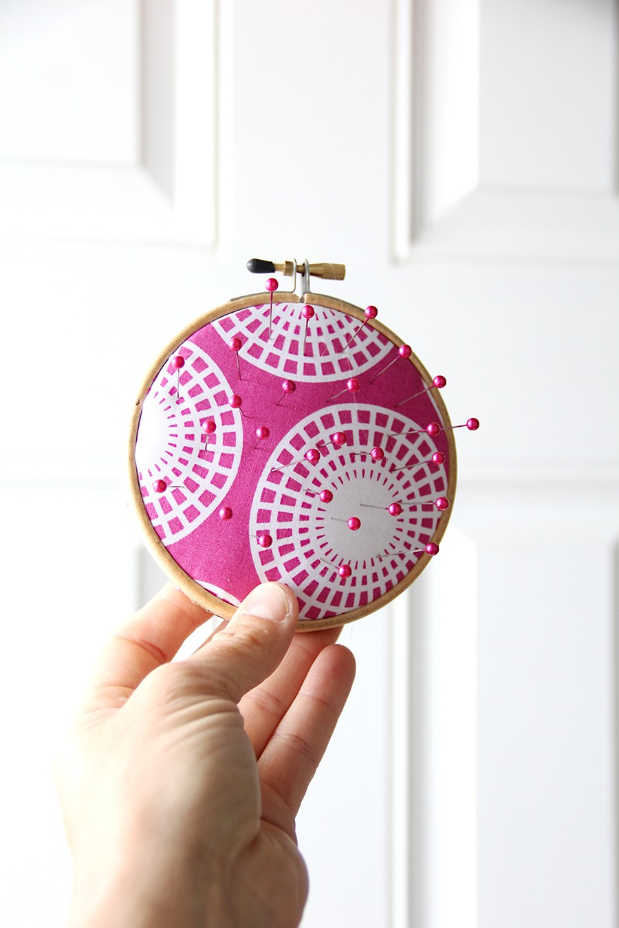 super easy pin cushion craft
