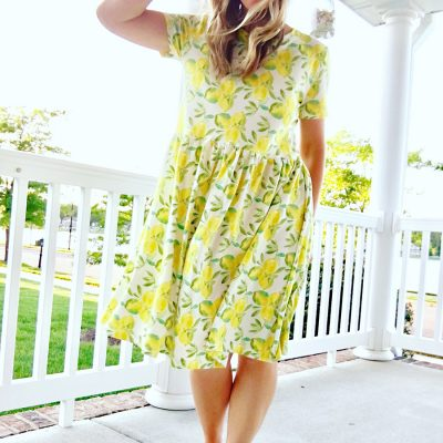 Freshwater Lemon Dress