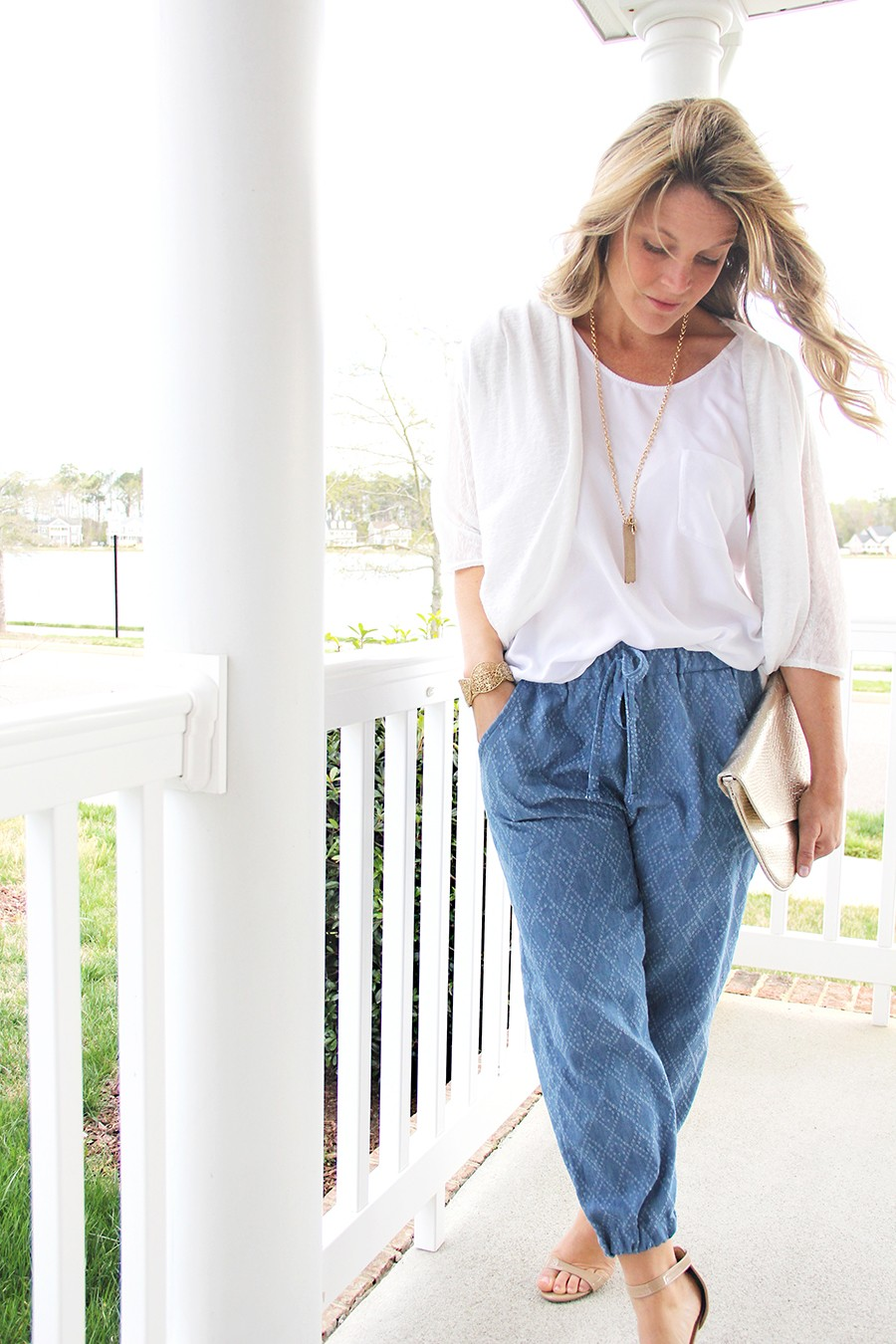 make comfortable jogger pants that you can actually wear out of the house