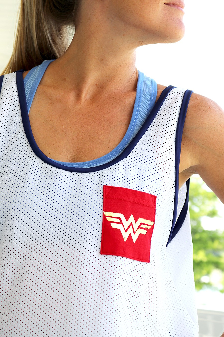 MAKE THIS: Wonder Woman Tank Top DIY