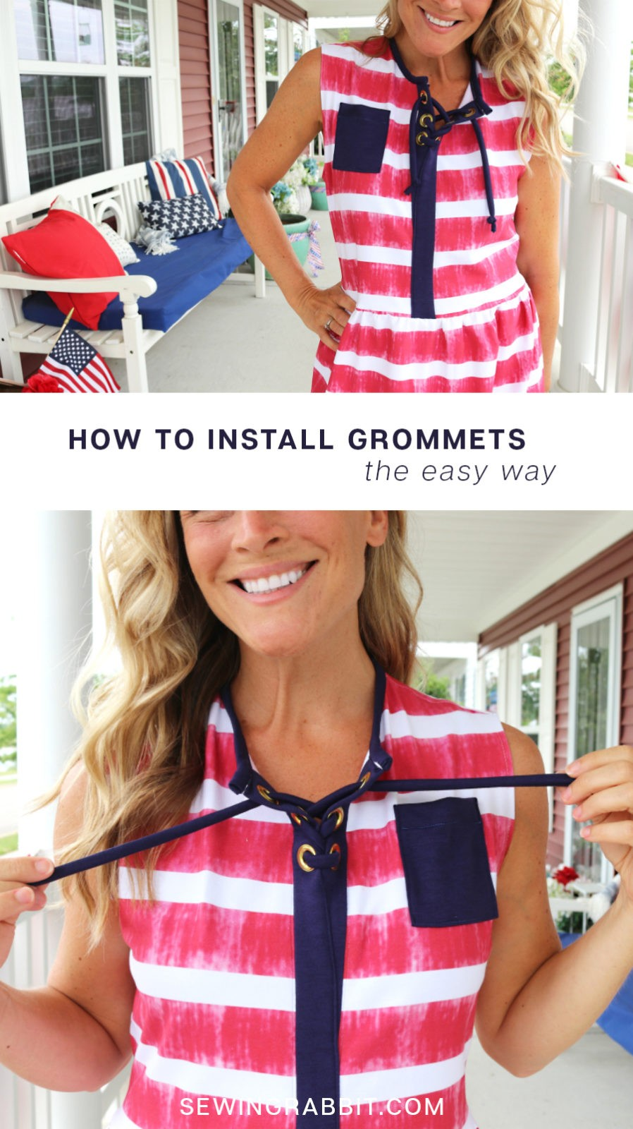 how to install grommets, the easy way