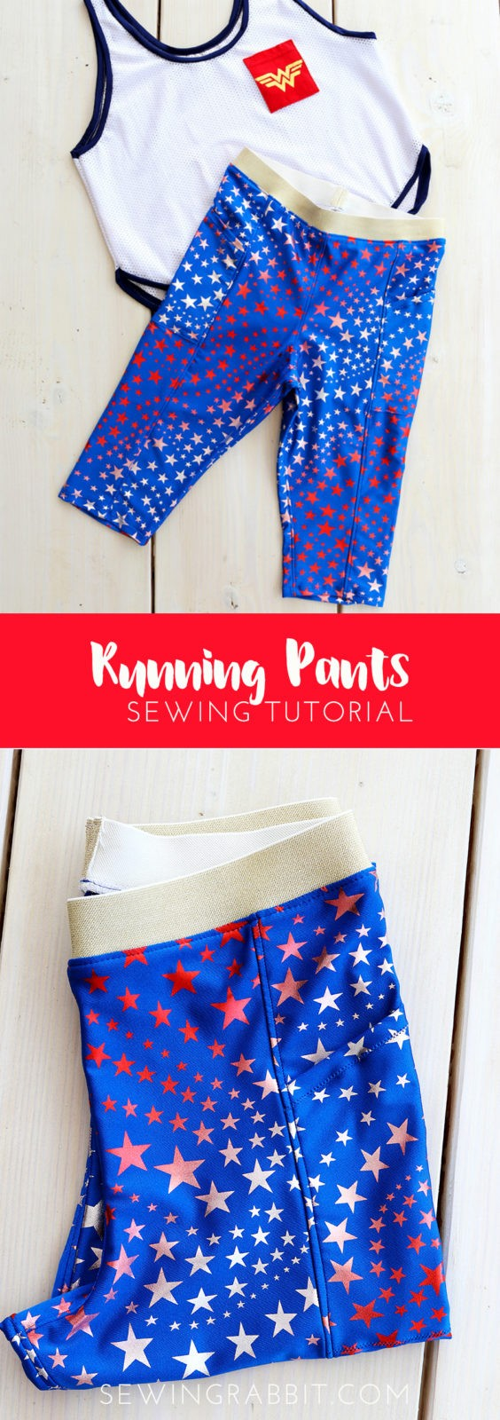 running pants DIY