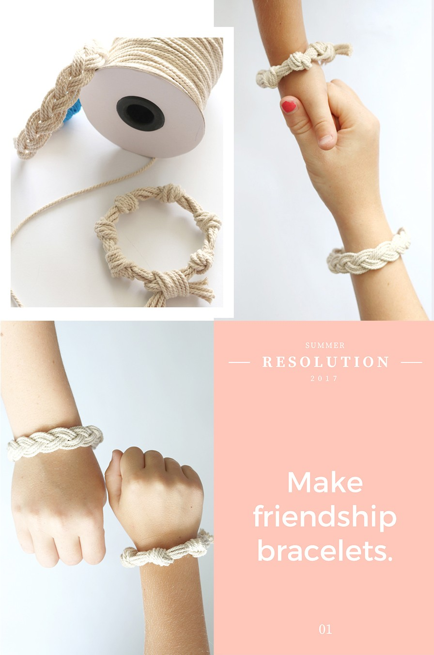 how to make a sailor bracelet - the nantucket bracelet DIY (cheater method)
