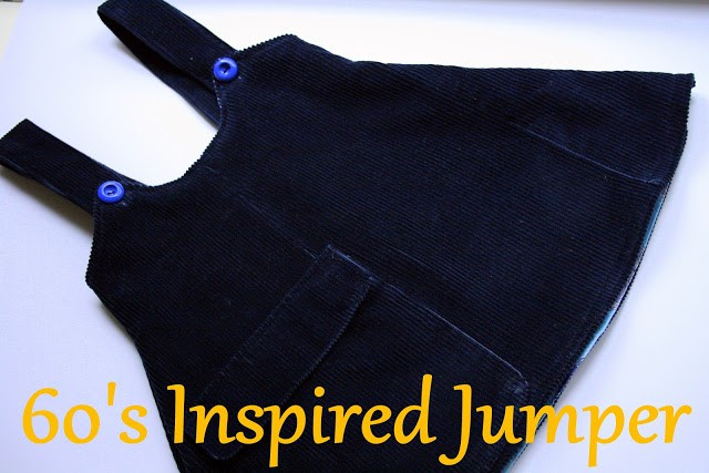 60's Inspired Children's Jumper DIY