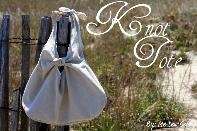 Knot Tote Tutorial
