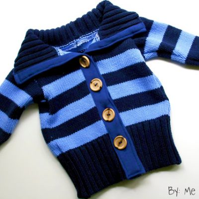 Upcycled Baby Sweater