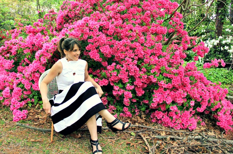Black and White Classical Stripes – Project Sewn