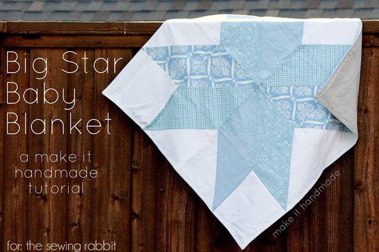 Big Star Baby Blanket – DIY