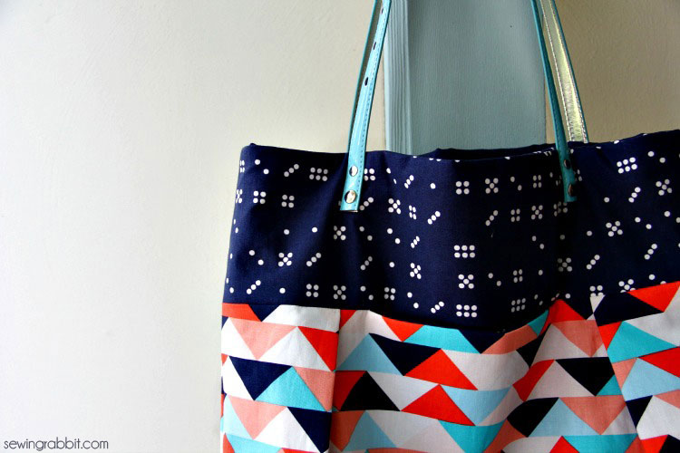 Pleated Tote Tutorial – Waterfront Park