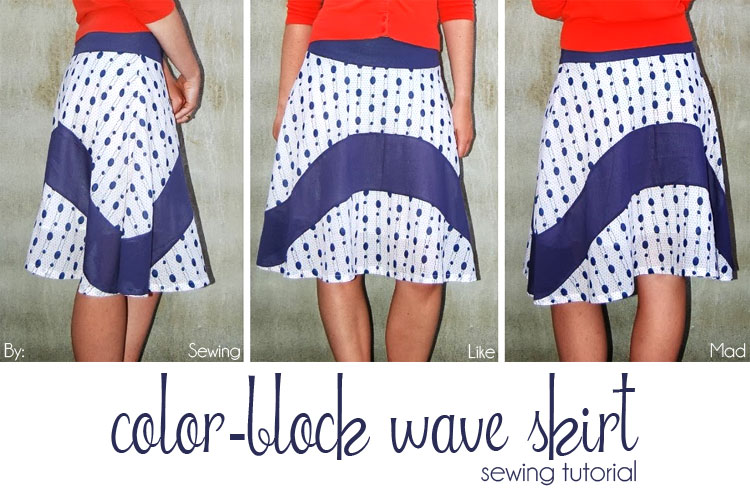Wave Skirt – Women's Sewing Tutorial