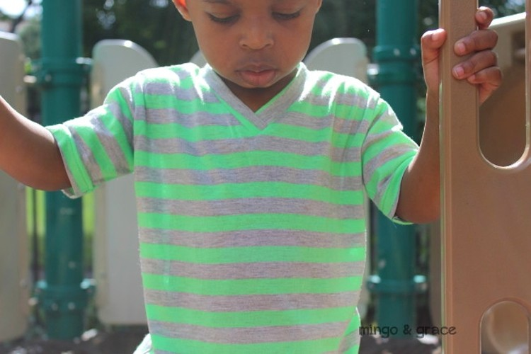 Easy V-Neck Sewing Tutorial