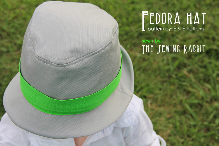 Fedora Hat Pattern - The Sewing Rabbit d509cfe91b0