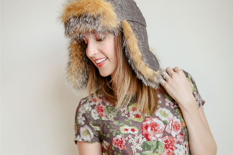 a6141b12f Ear Flap Hat DIY - with free Sewing Pattern - The Sewing Rabbit