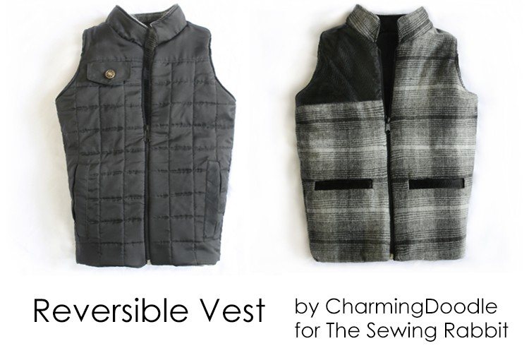 Reversible Vest with Pocket Flap DIY – Fall Collection 2013