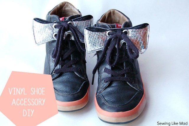 Vinyl Shoe Accessories DIY