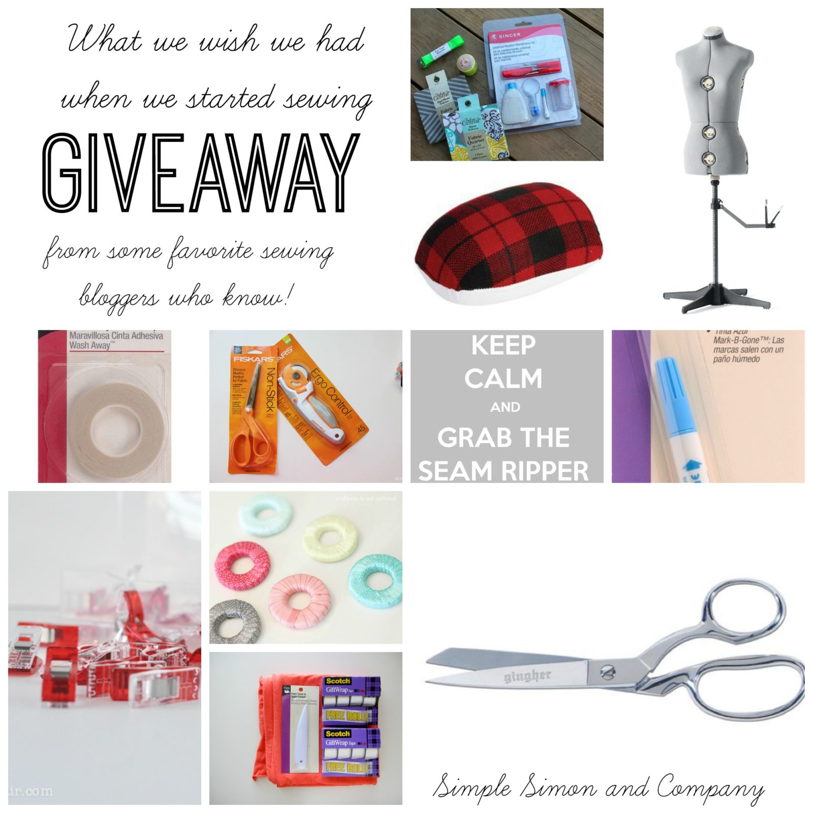 Mass Sewing Giveaway