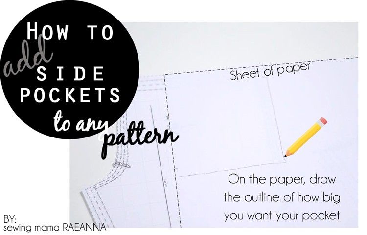 How to add Side Pockets to any Pattern!