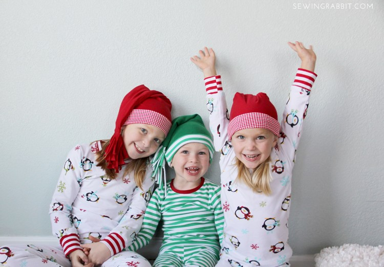 Sleeping Cap DIY & Christmas Jammies