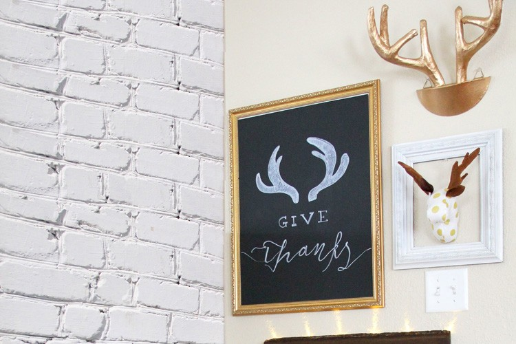 Budget Friendly Thanksgiving Decor – DIYs