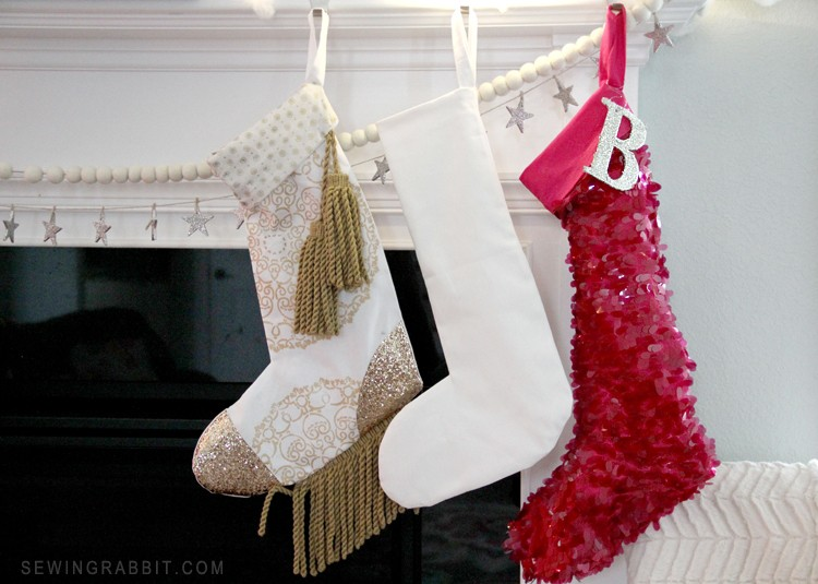 Christmas Stocking DIY, with Free Pattern