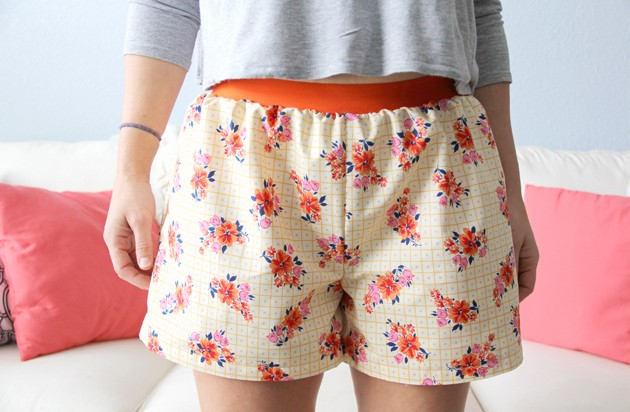 Easy Women's Boxer Shorts DIY, Free Pattern