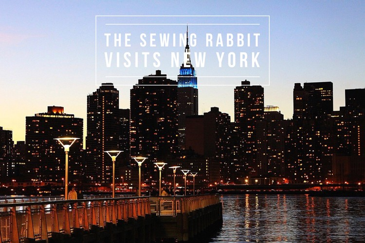 Sewing Rabbit in New York