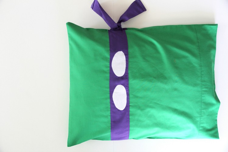 TMNT Pillowcase DIY