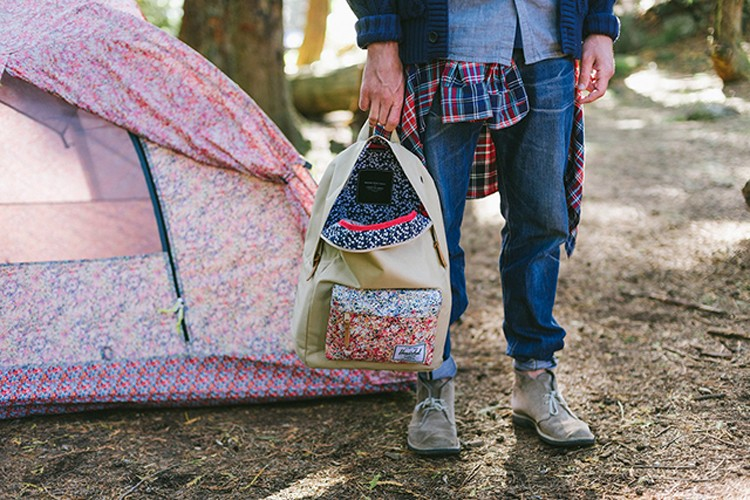 Camping with Liberty of London