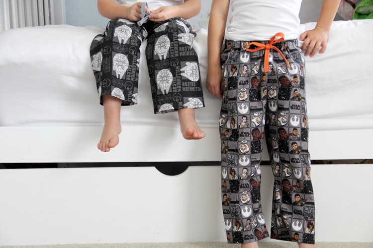 Star Wars Pajamas DIY