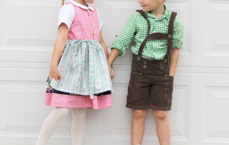 Dirndl and Lederhosen DIY