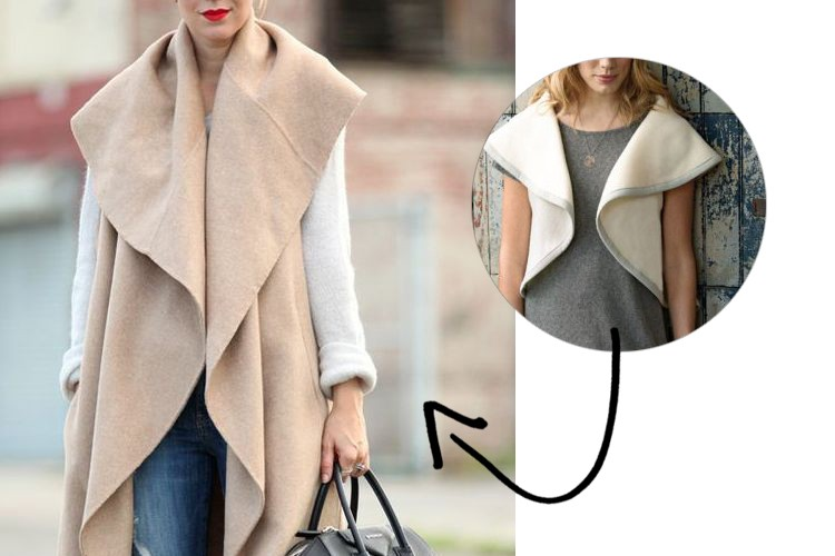 Make this Look: Long Circle Vest - The Sewing Rabbit