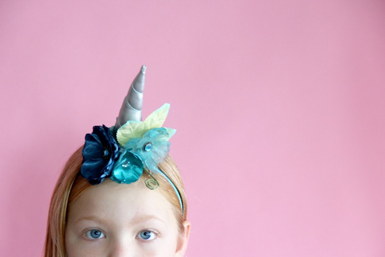 Unicorn headband DIY