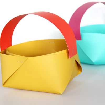 How to make a paper basket