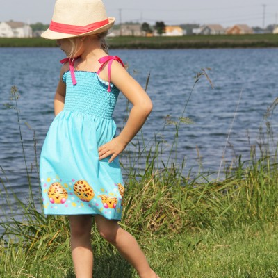 20 Minute Smocked Dress