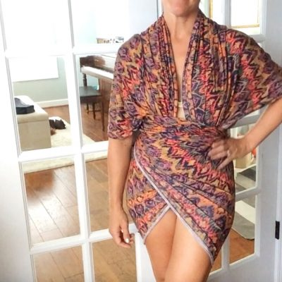 No Sew Beach Wrap Dress