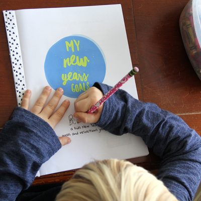 Kids New Years Goals Journal (free download)