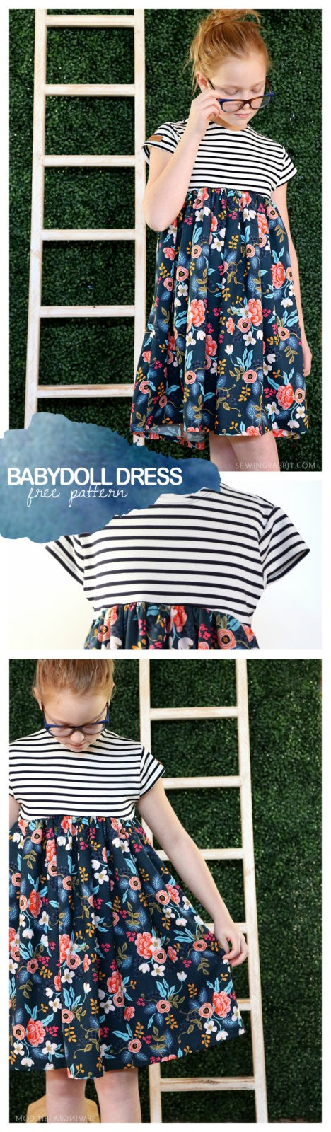 gorgeous free dress pattern, perfect for Spring!