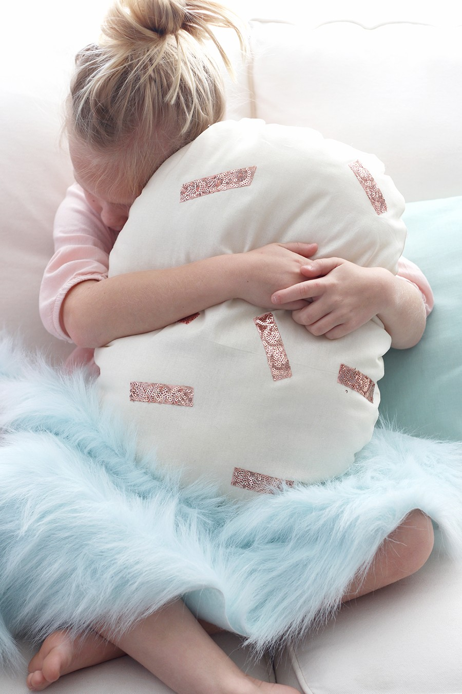how to sew an easter egg pillow